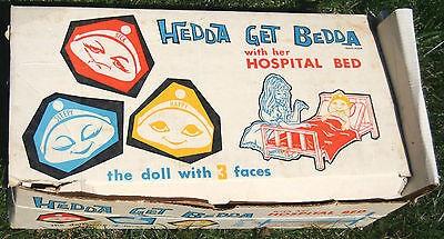 Hedda Get Bedda originally came with a hospital bed.