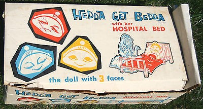 Hedda Get Bedda originally came with a hospital bed.