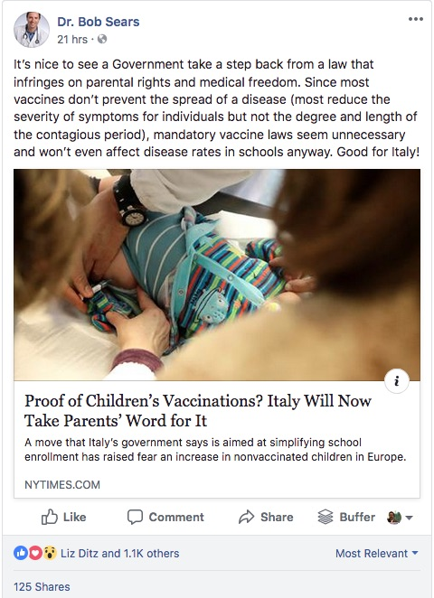 Most vaccines don't prevent the spread of diseases?
