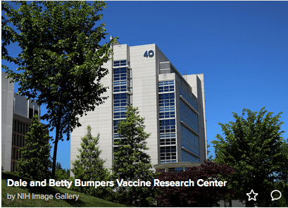 The Dale and Betty Bumpers Vaccine Research Center wad dedicated in 1999.