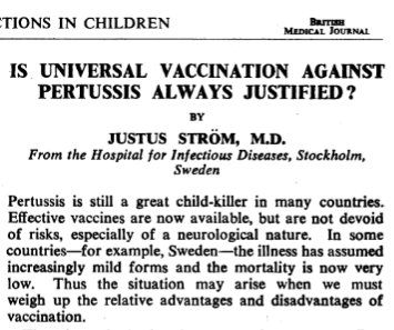 Justus Ström's data was wrong...