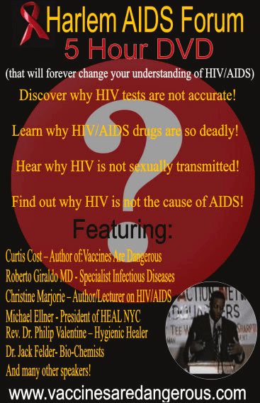 Did the Harlem AIDS Forum change anyone's understanding of HIV/AIDS?