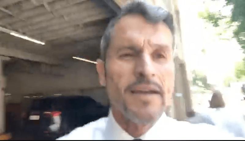 Austin Bennett assaulted Richard Pan during a Facebook video he conveniently filmed.