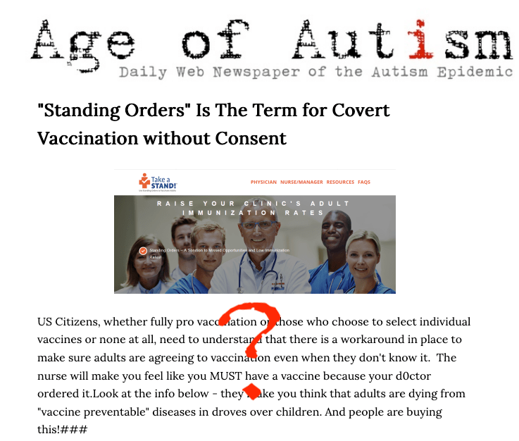 Anti-vax folks have become overt in how they are now all about conspiracy theories.