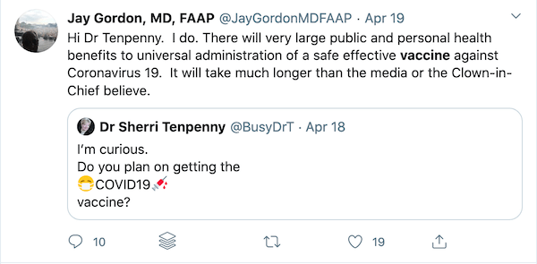Imma let you finish Jay, but let's remember that there are very large pubic and personal health benefits to getting ALL vaccines on time and on schedule.