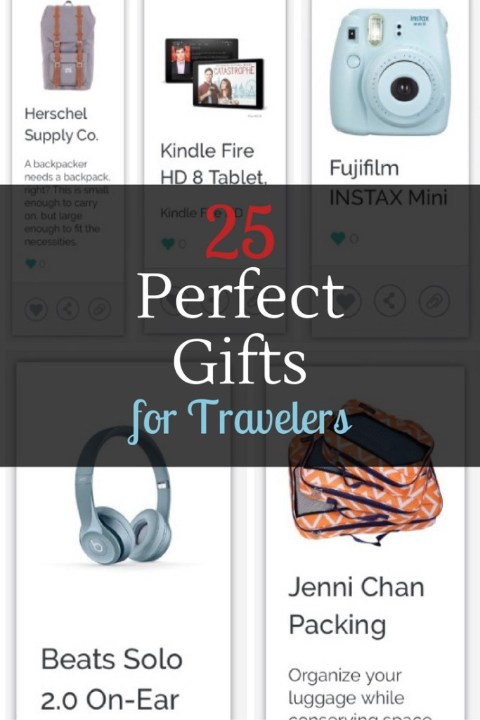 25 Perfect Gifts for Travelers