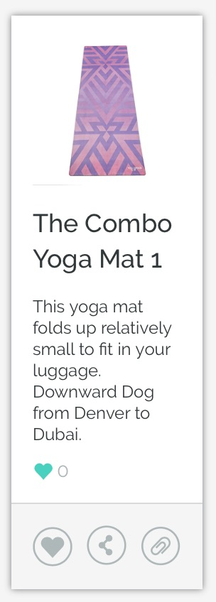 The Combo Travel Yoga Mat
