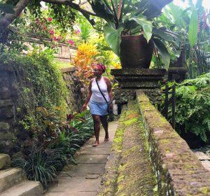 Black Solo Traveler Ubud, Bali vaycarious.com
