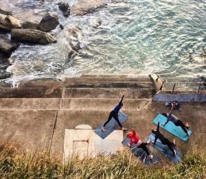 Yoga on Bondi Beach, Sydney, Australia http://vaycarious.com/2017/01/21/goals