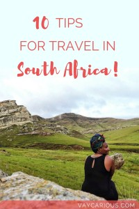 10 Tips for Travel to South Africa. Destination Guide for travelling Cape Town, Durban, Johannesburg, Clarens Maluti Highlands, Kruger National Park and Addo Elephant Park vaycarious.com