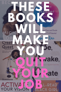 10 inspiring books for black women experiencing burnout. These 10 books will make you quit your job.