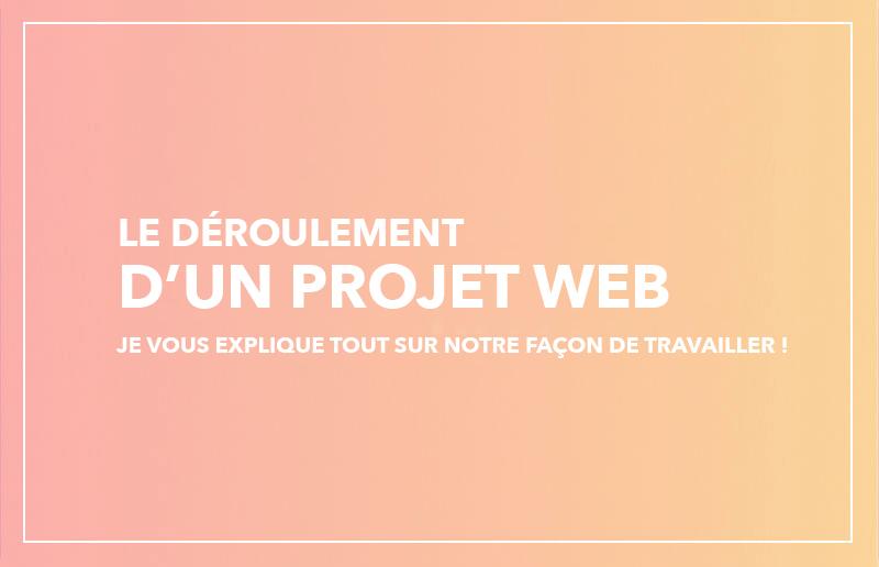 Déroulement d'un projet web