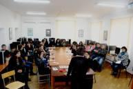 «Մի′ սպանիր» ծրագրի շրջանակներում հանդիպում Վայոց ձորի տարածաշրջանային պետական քոլեջում