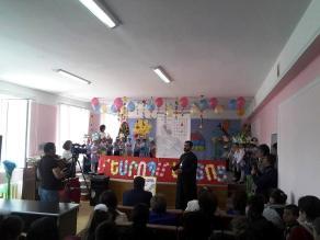 «Հրաժեշտ այբբենարանին» հանդեսը Կեչուտի միջնակարգ դպրոցում