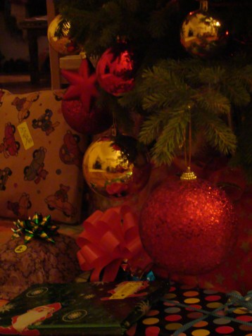 Our small but cute Christmas tree 2012