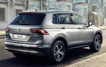 VolkswagenTiguan фото сзади