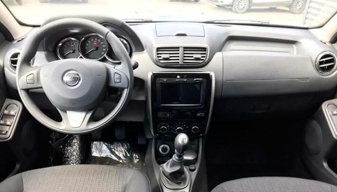 Салон Nissan Terrano