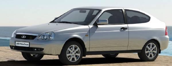 LADA Priora Coupe - новые комплектации, цены.