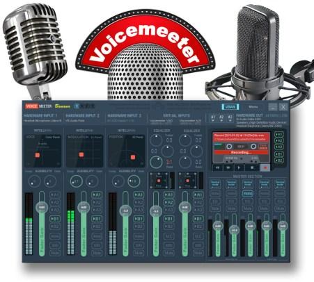 VoiceMeeter Banana Advanced Virtual Mixing Console