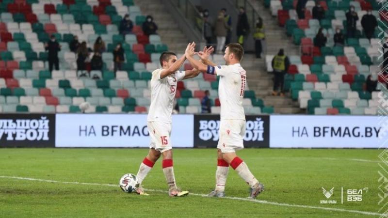 Лига наций. Беларусь обыграла дома Казахстан