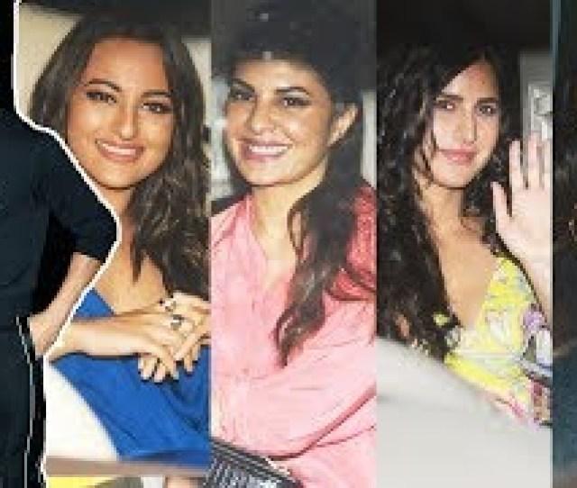 Sidharth Malhotra Birthday Party Katrina Kaif Jacqueline Fernandez Sonakshi Sinha