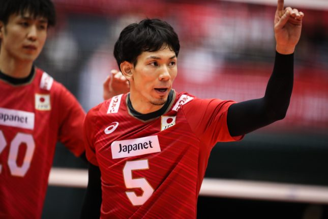 西田 男子 バレー