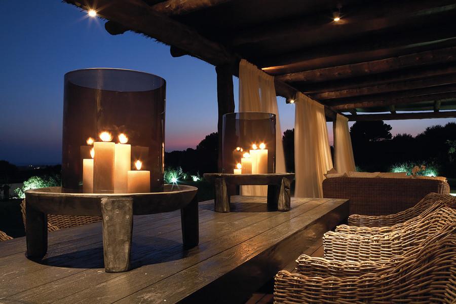 velas chill terraza