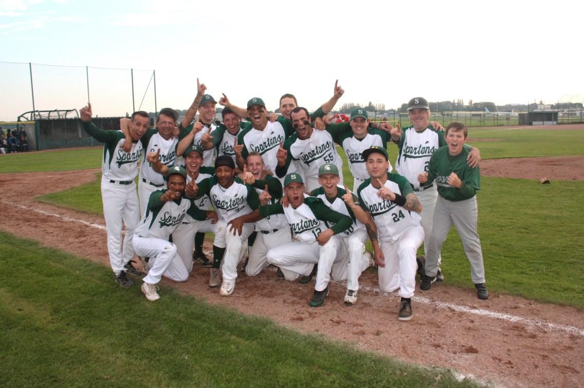 Spartans Kampioen 2015