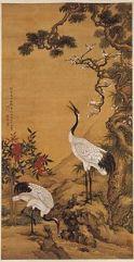 Manuscritos en bambú 15 grullas