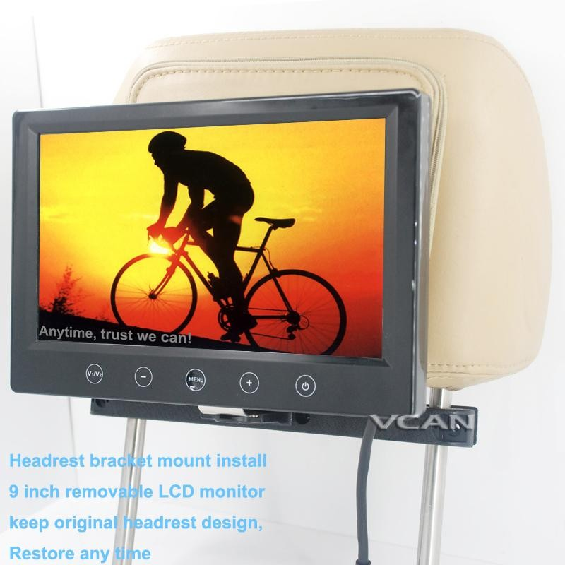 9 inch widescreen car monitor