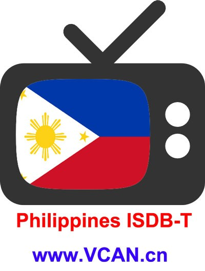 Philippines ISDB-T channels