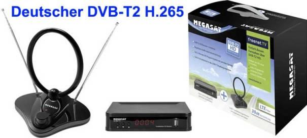 Deutscher DVB-T2 H.265