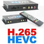 DVB T265 Germany car dvb t2 h265 hevc new decoder s