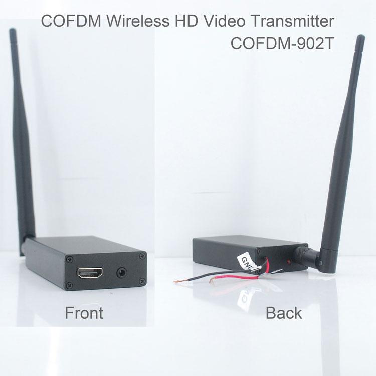 COFDM 902T HDMI Wireless Video Transmitter 1080P 720P CVBS RCA input 2 2