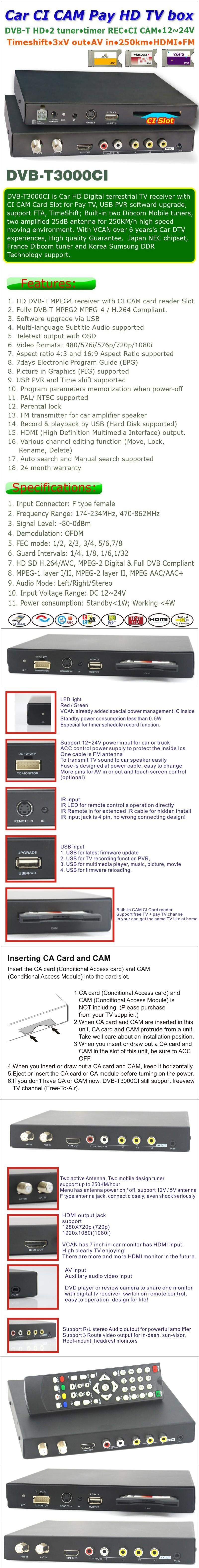 mpeg4 h264 hd dvb-t receiver