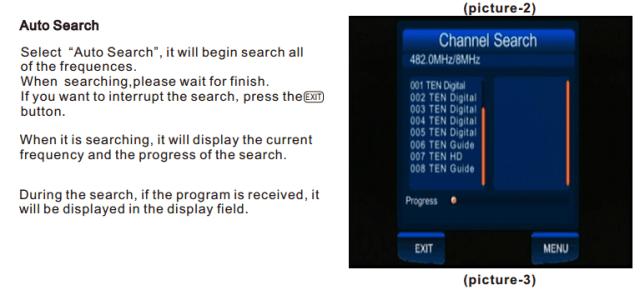 ATSC Car TV Digital receiver for USA Canada Mexico ATSC-201 3 -