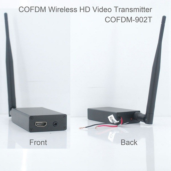 COFDM-902T COFDM HD Wireless composite Video Transmitter 1080P CVBS SD 720P