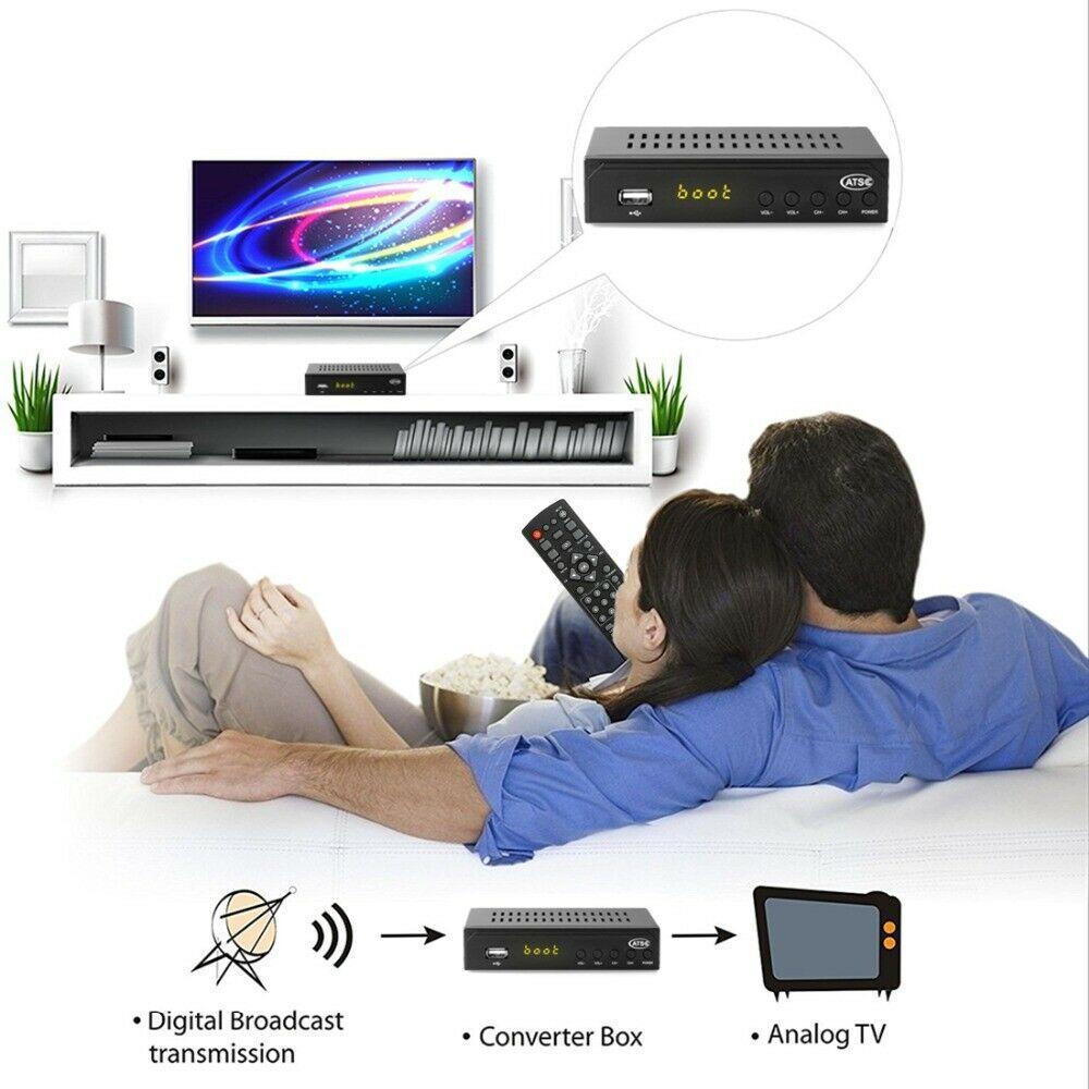 Mexico ATSC TV Receiver Digital TV MPEG4 HDMI USB PVR VCAN1078 for USA Canada 12 -