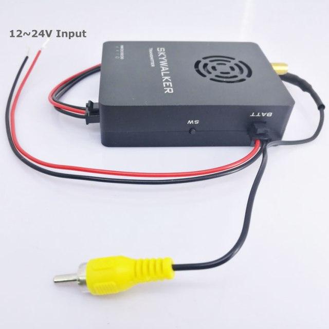 COFDM беспроводной передатчик видео приемник Передача HDMI HD 1080P композитный CVBS в H.264 COFDM-904T 5