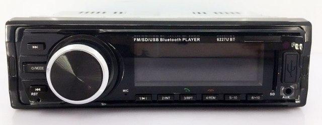 Fixed Panel Car MP3 USB SD FM Bluetooth RDS  MP3-6227 15 -