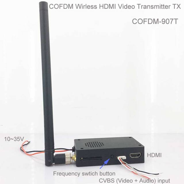 OFDM Wireless Video Transmitter