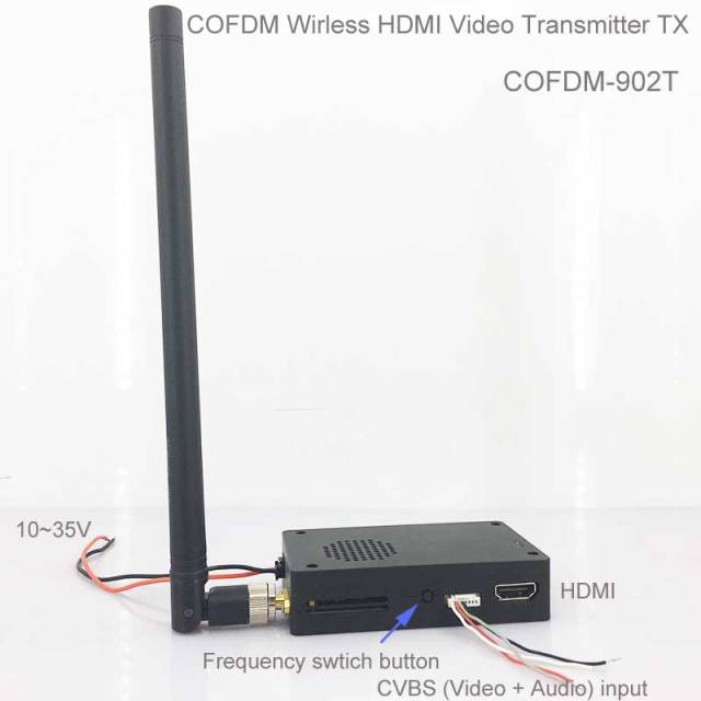 COFDM Wireless Video HDMI Transmitter