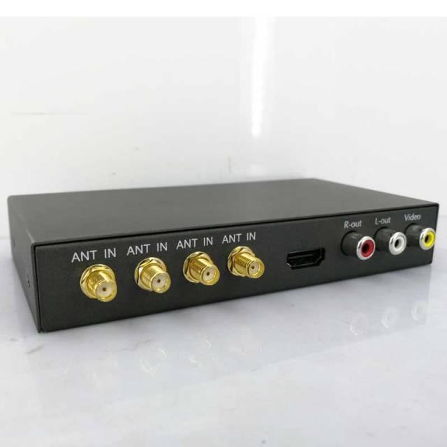 Automobile tnt COFDM 4 tuner 4 antenne