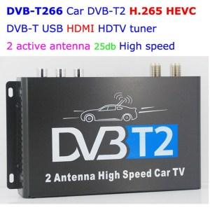 DVB-T2 mobil H265