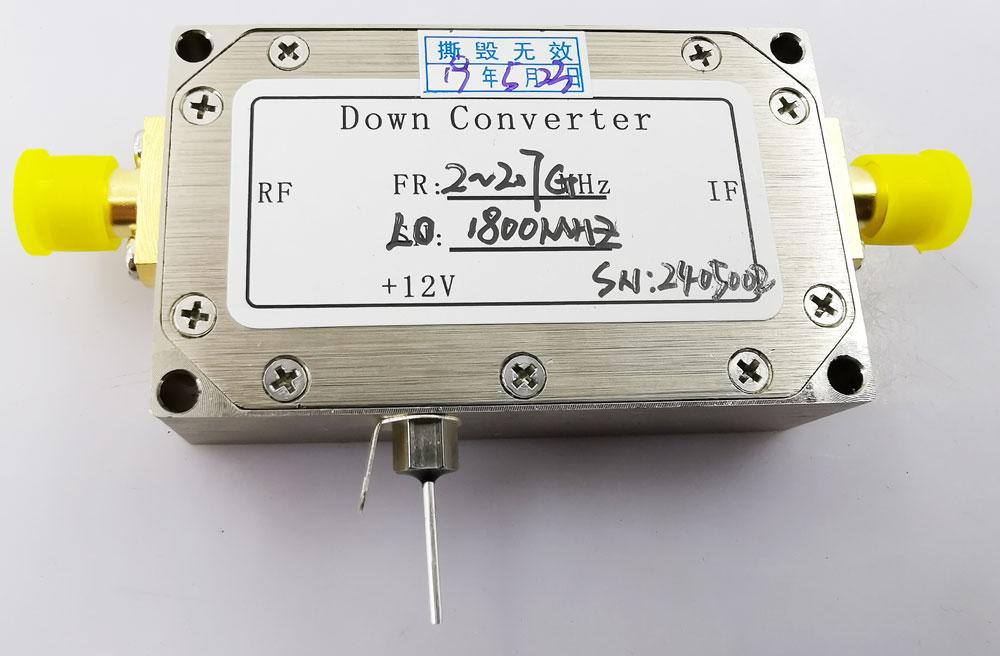 Digital Down Converter COFDM Transfer frequency 2.4G to 600Mhz low BDC 5 -