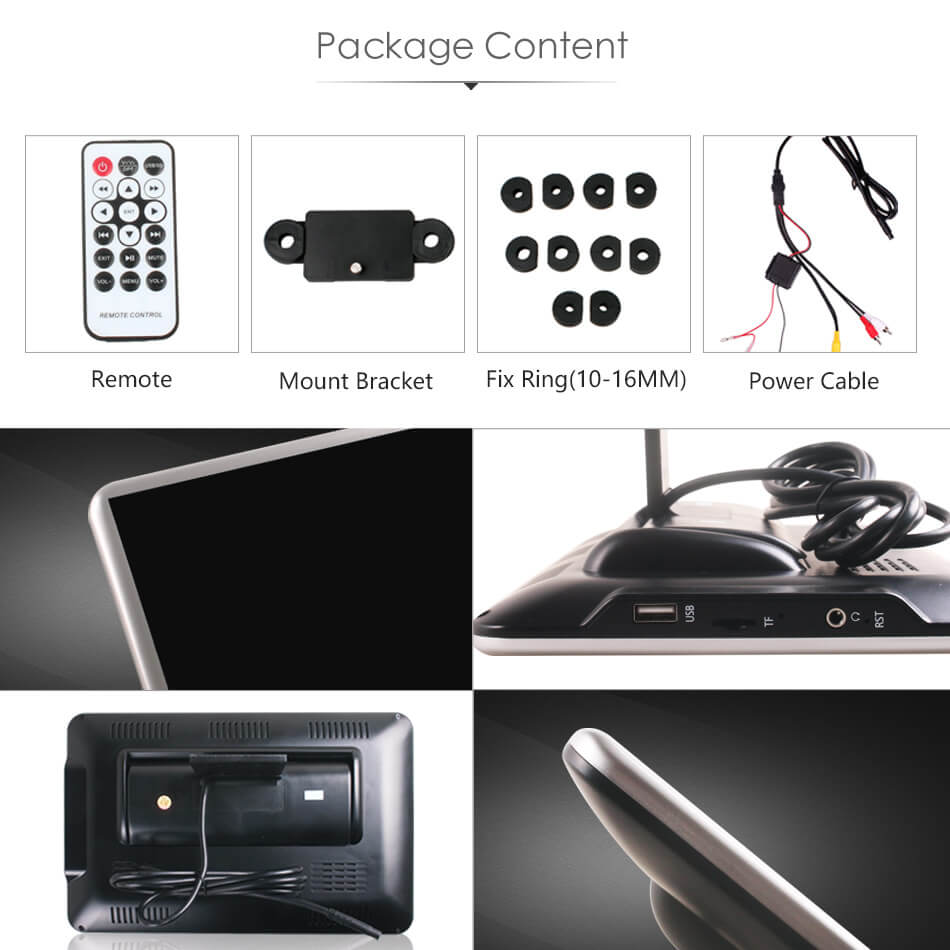Vcan1533 11.6 android headrest player package