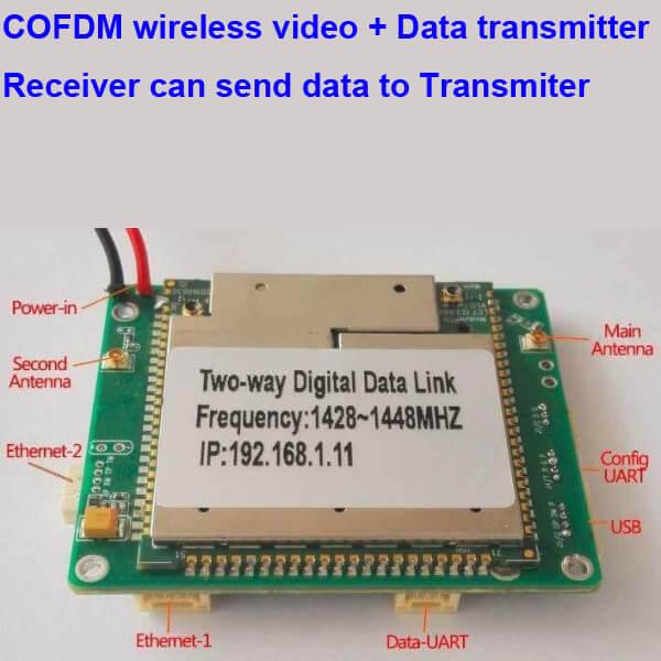 Two-way wireless transmission digital data link module 2 -