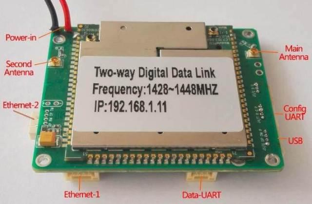 Two-way wireless transmission digital data link module 4 -