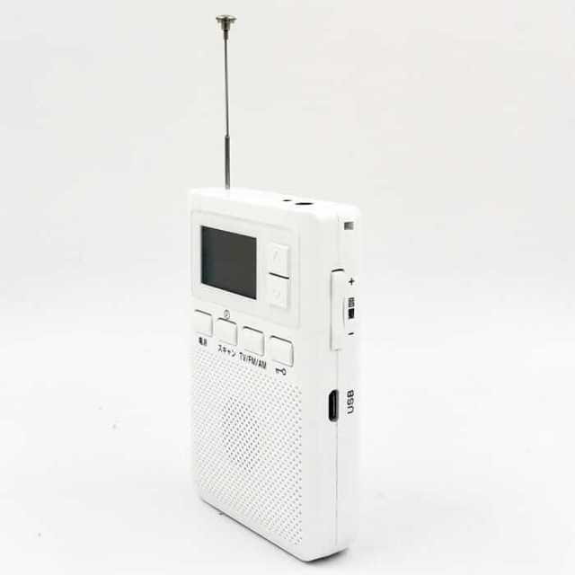 One seg AM FM RADIO Pocketv ISDB-T tv one segment radio with clock 6 -
