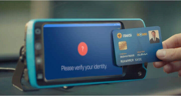 mobile data terminal android id card
